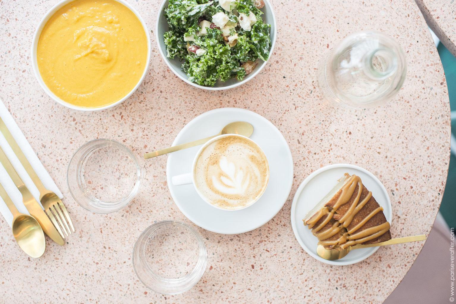 The Prettiest Parisian Café: Peonies