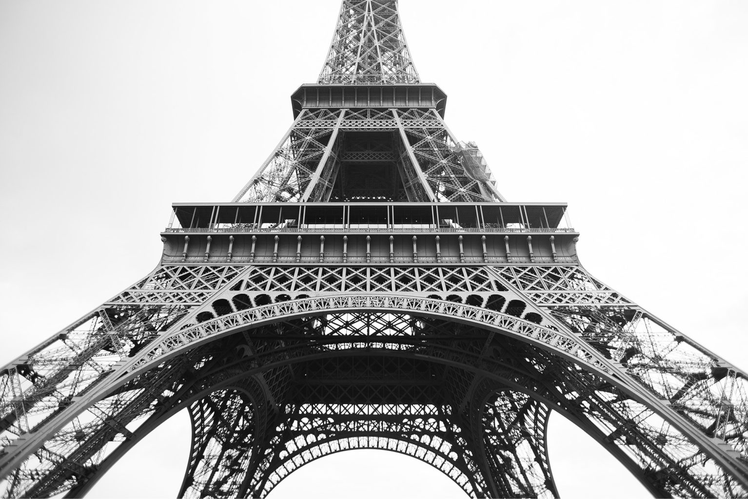 Paris Walk: The Eiffel Tower