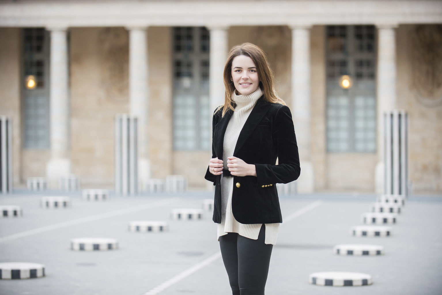 Portrait Session in Paris with Catherine Smith of Plan de Ville